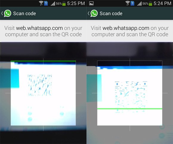 Scan WhatsApp Web Bar Code