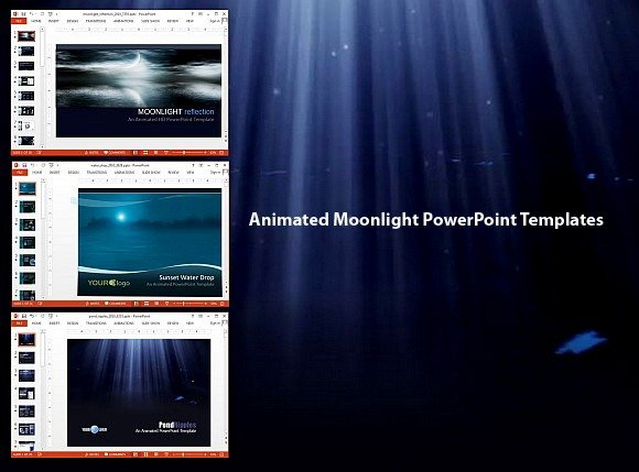 Animated moonlight powerpoint templatesg animated moonlight powerpoint templates toneelgroepblik Images