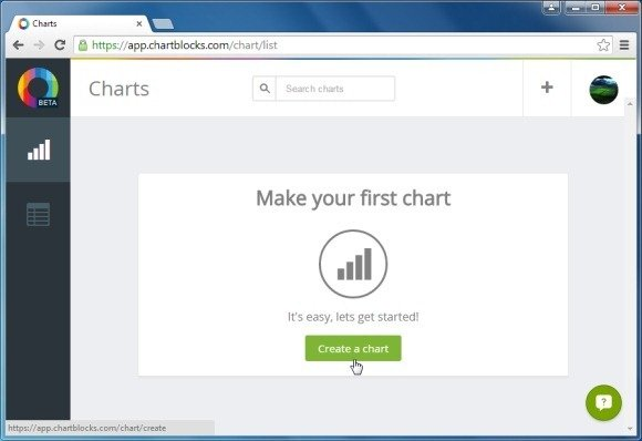 Create a chart online