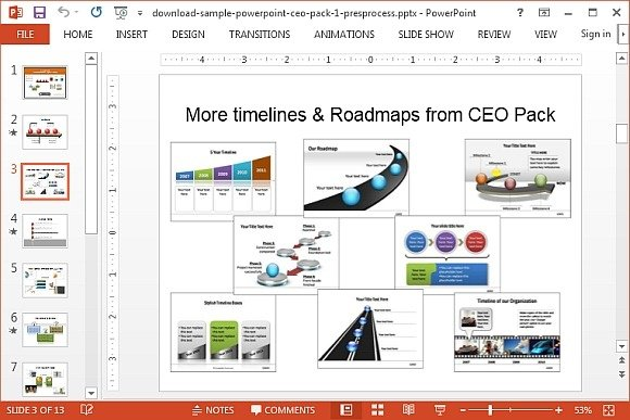 How To Draw A D Roadmap In PowerPoint - Learning roadmap template