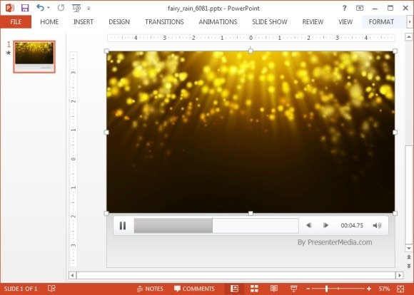 Animated fairy rain powerpoint template fairy rain animation toneelgroepblik Image collections