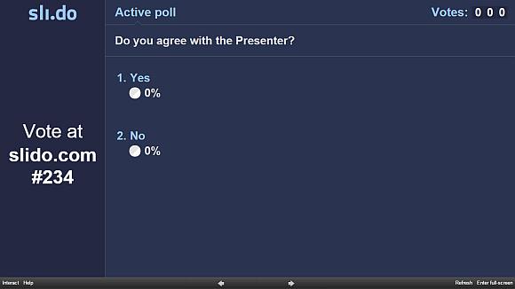 Prezi poll