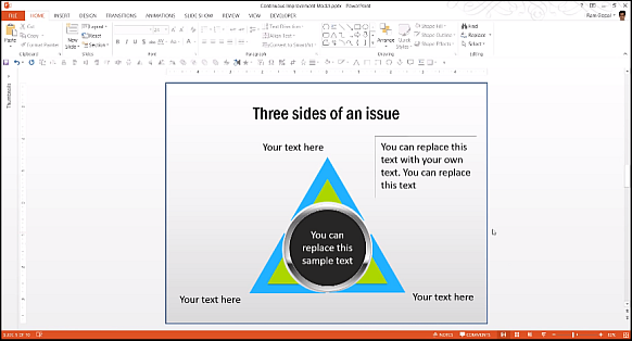 Animated PowerPoint business models