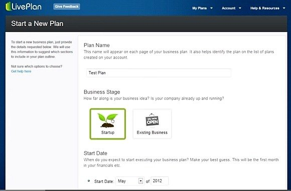 Liveplan Create Professional Business Plans Using Hundreds Of Samples