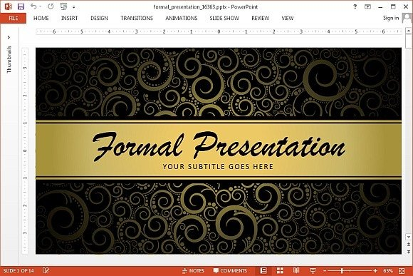 Animated powerpoint template for formal presentations formal presentationtemplate for powerpoint toneelgroepblik Images