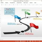 create timeline in powerpoint