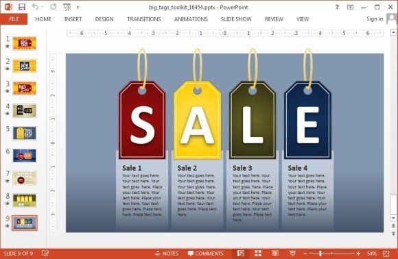 sales tag template for powerpoint presentations jpg fppt