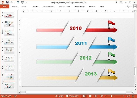 Animated timeline maker templates for powerpoint timeline maker template for powerpoint toneelgroepblik Image collections