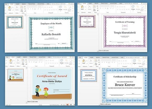 Best certificate templates for powerpoint toneelgroepblik Gallery