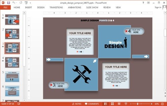 Infographic design for PowerPoint