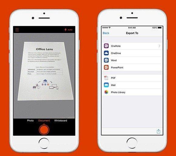 Office Lens for iOS