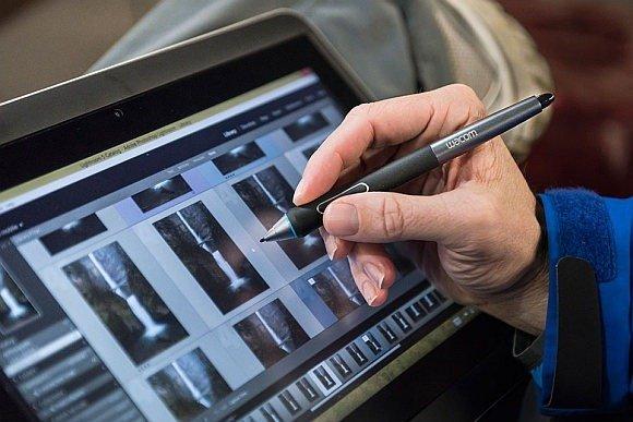 Wacom digital drawing tablets