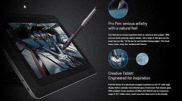 Wacom tablet pen