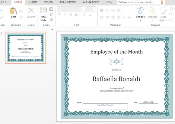 Best Certificate Templates For Powerpoint