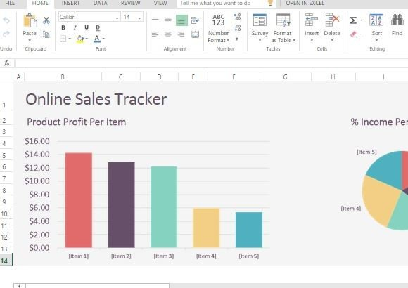simple and easy online sales tracker for businesses