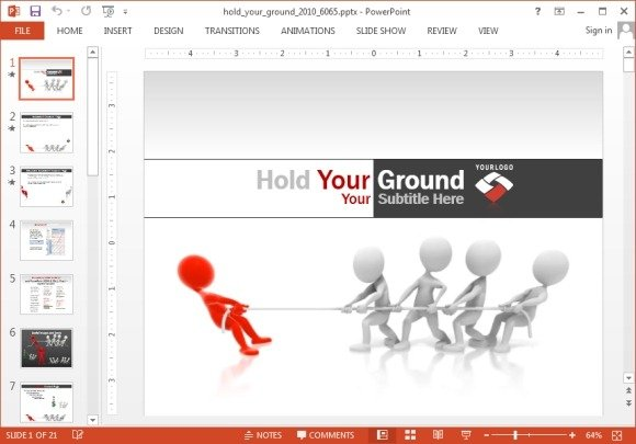Animated tug of war powerpoint template toneelgroepblik Image collections
