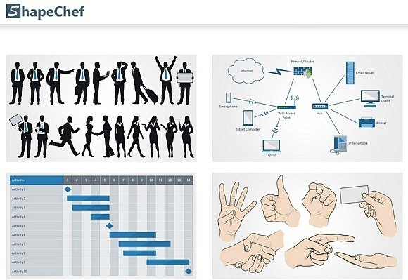 Get high quality clipart charts for powerpoint using shapechef ccuart Choice Image