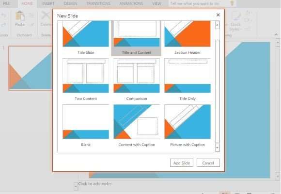 slideshow layouts for powerpoint