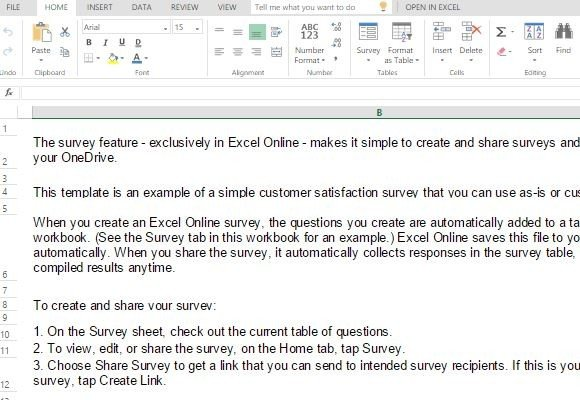 Customer Satisfaction Survey Template | Customer Satisfaction Survey Template For Excel