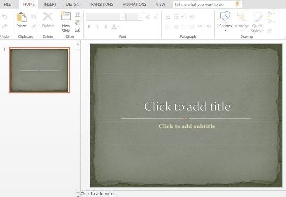 bring back the old times with this old this old paper powerpoint template