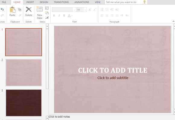 free calligraphy powerpoint template, Modern powerpoint