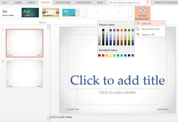 customize-the-powerpoint-template-to-suit-your-preferences - FPPT