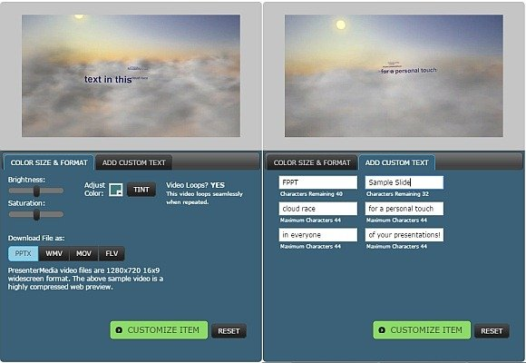 Animated clouds video background templates for powerpoint toneelgroepblik Gallery
