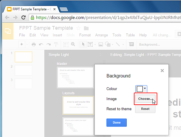 select background for google slides template png fppt