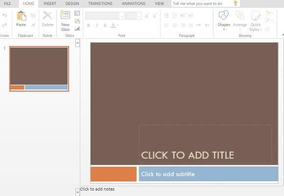 Median powerpoint template modern template with complementary color blocks toneelgroepblik Images