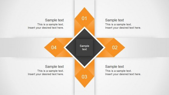 4 Arrows PowerPoint diagram for presentations
