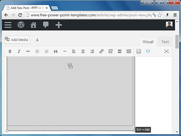 Add PowerPoint file to WordPress