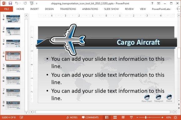 Cargo aircraft layout