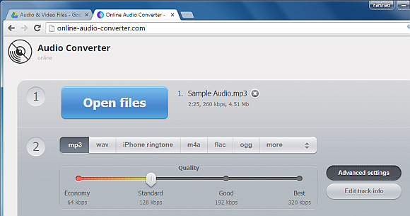 Convert mp3 files from Google Drive