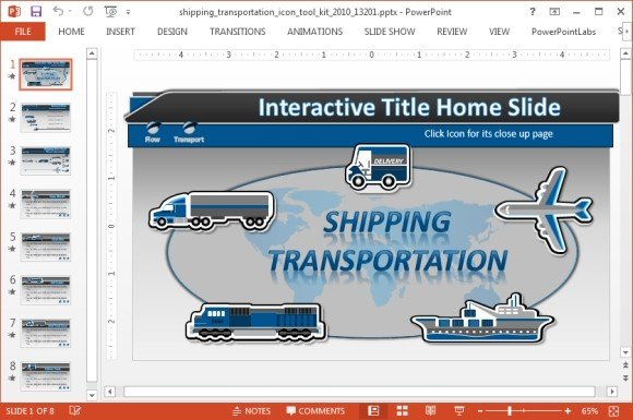 Shipping icons powerpoint template shipping icons toolkit for powerpoint toneelgroepblik Image collections