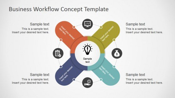 Business Workflow PowerPoint Template