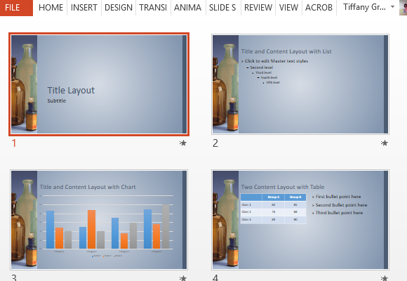 choose-different-slide-layouts-to-present-your-data-in-different-ways