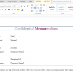 confidential-memo-template-for-companies-and-organizations