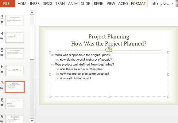 Follow the guides to organize your project post mortem presentations follow the guides to organize your project post fbccfo Gallery