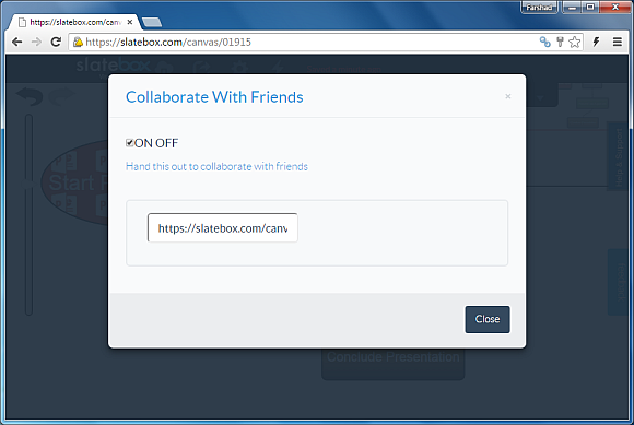 Collaborate with friends