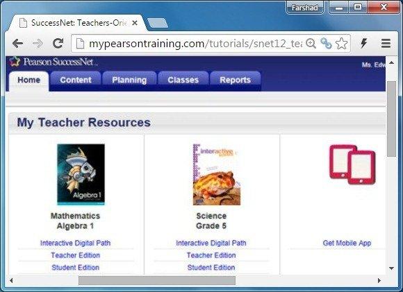 Teachers resources