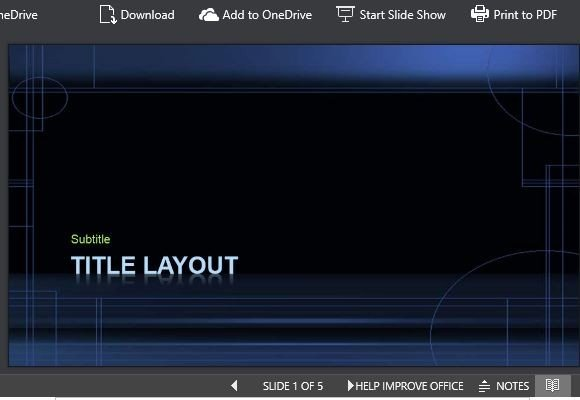 Nightfall Powerpoint Template