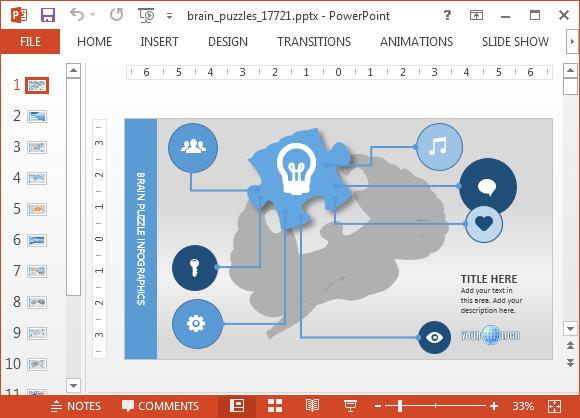 Animated Psychology Powerpoint Templateg Fppt