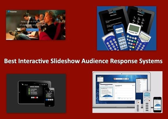 Best interactive slideshow audience response systems