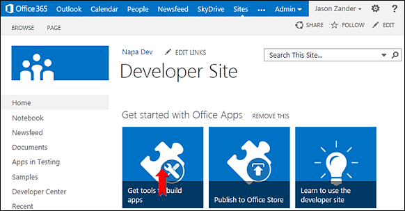Napa for SharePoint