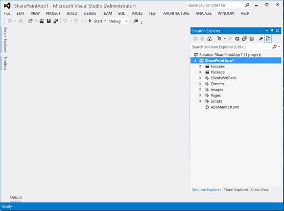 Open Napa project in VisualStudio