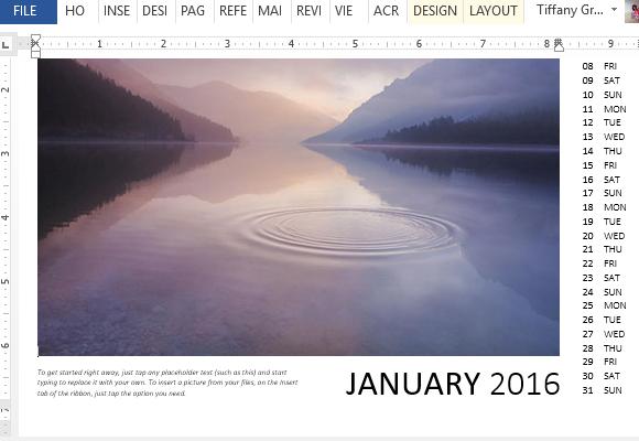 beautiful-and-captivating-photo-calendar-template
