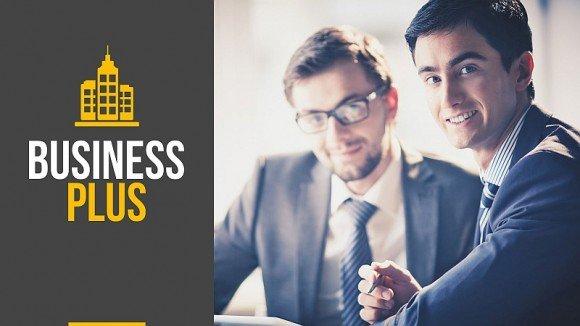 Business plus Keynote template