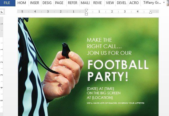 Use-this-football-party-flyer-on-your-next-game-day-party