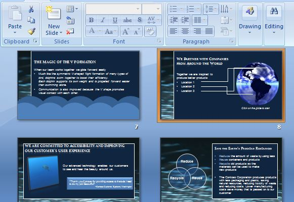 Beautiful And Interactive Corporate Powerpoint Templateg Fppt