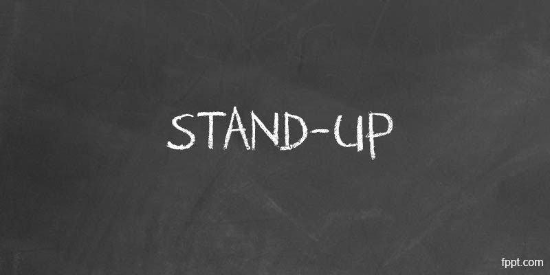 Stand-up presentation